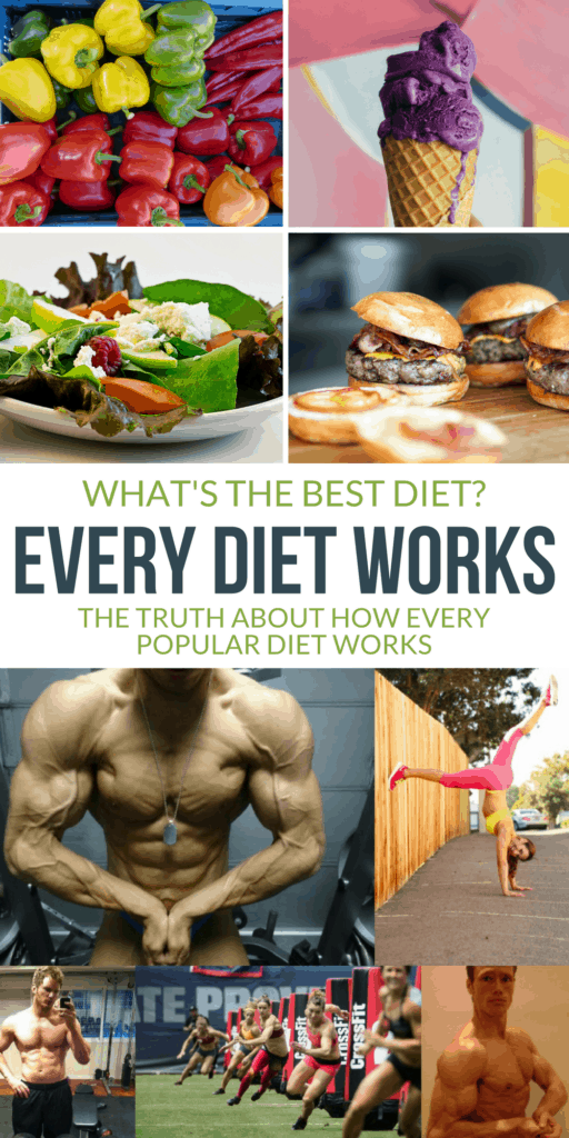 The truth about how every diet works and how you can easily decide which is the best diet for you and your goals.