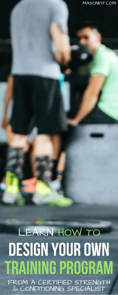 how to design your own strength training program