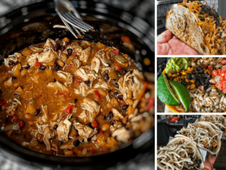 high protein fat loss meals meal prep in 5 minutes slow cooker chicken fajitas