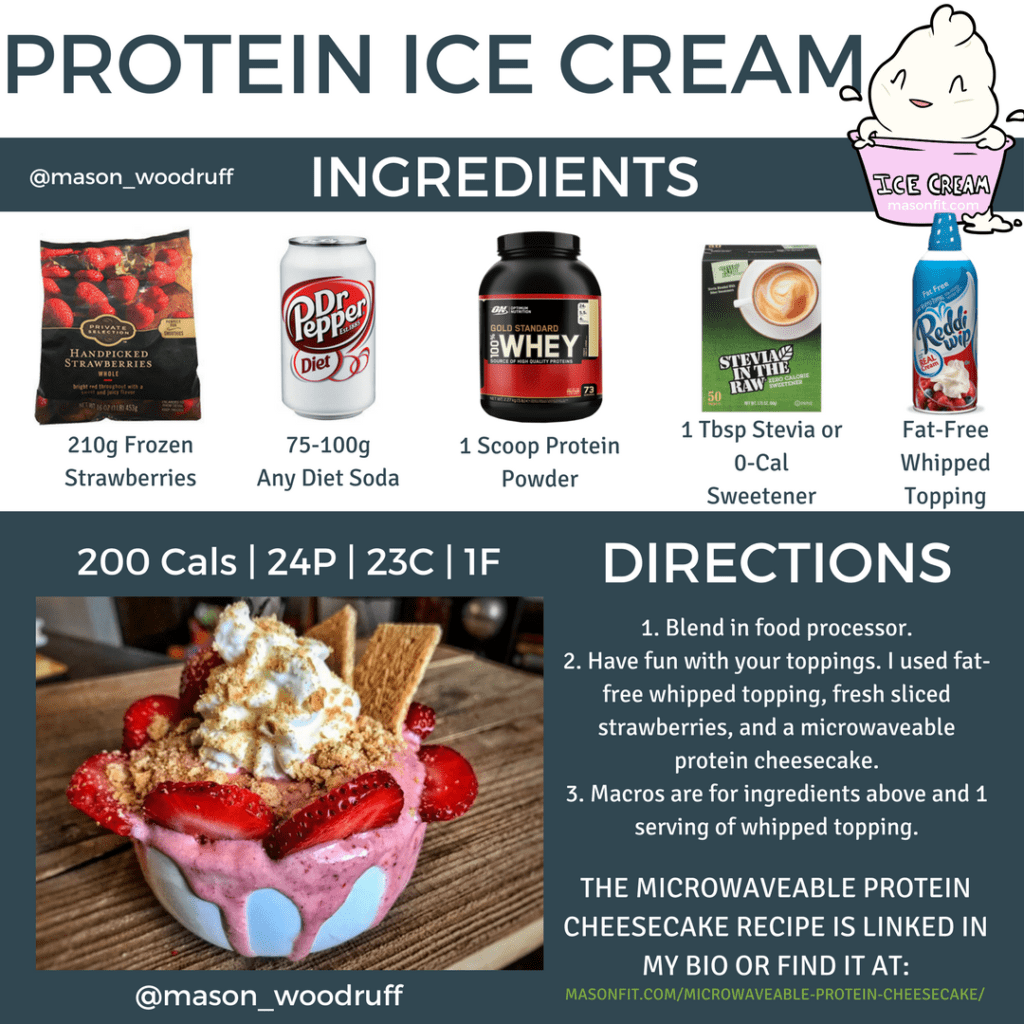 protein ice cream recipe