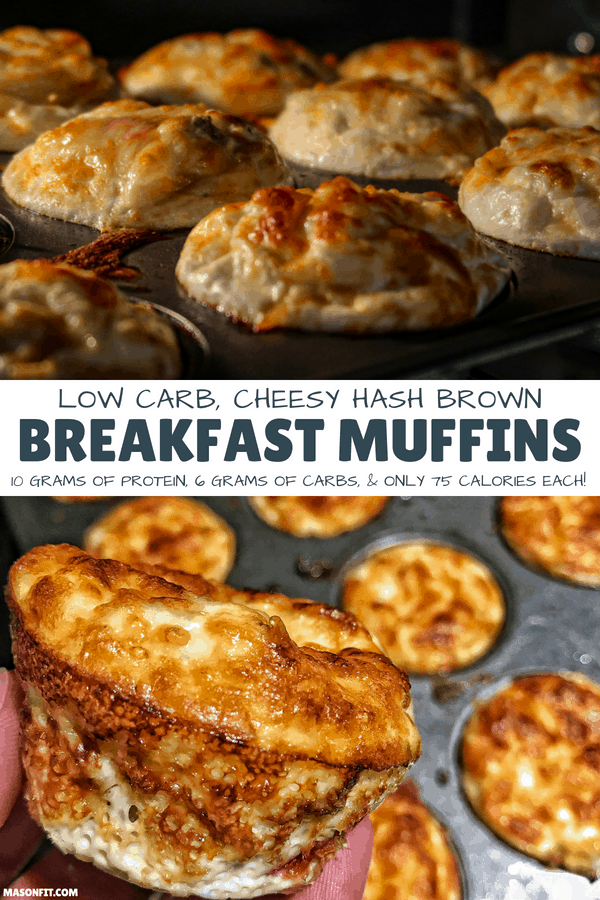 With only 75 calories, 6 grams of carbs, and 10 grams of protein, these healthy breakfast muffins are sure to be a hit for meal prep or a weekend brunch!