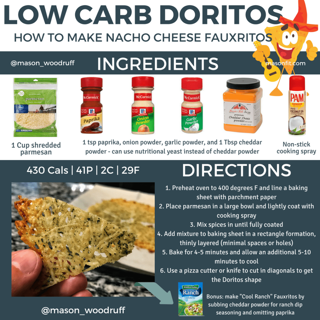 low carb doritos recipe