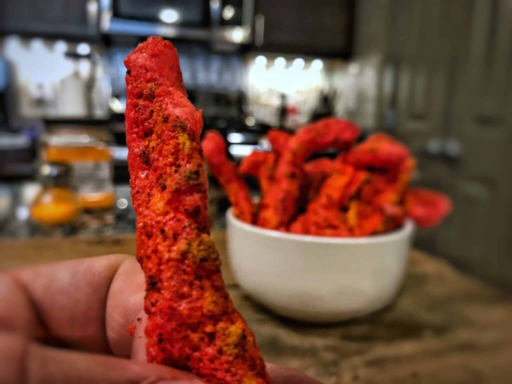 how to make flaming hot cheetos macro friendly and high protein