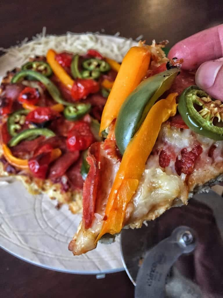 how to make low carb pizza meatza recipe