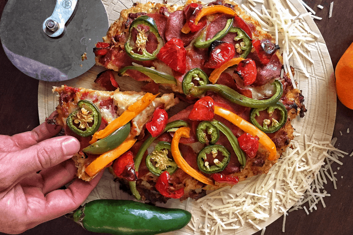 How to Make Low-Carb Pizza: Meatza Recipe