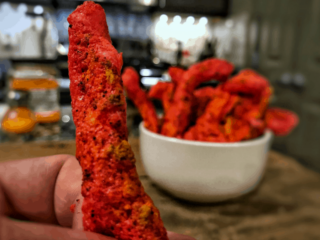 low carb flaming hot cheetos recipe