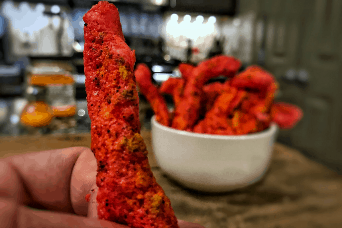 How to Make Flaming Hot Protein Cheetos