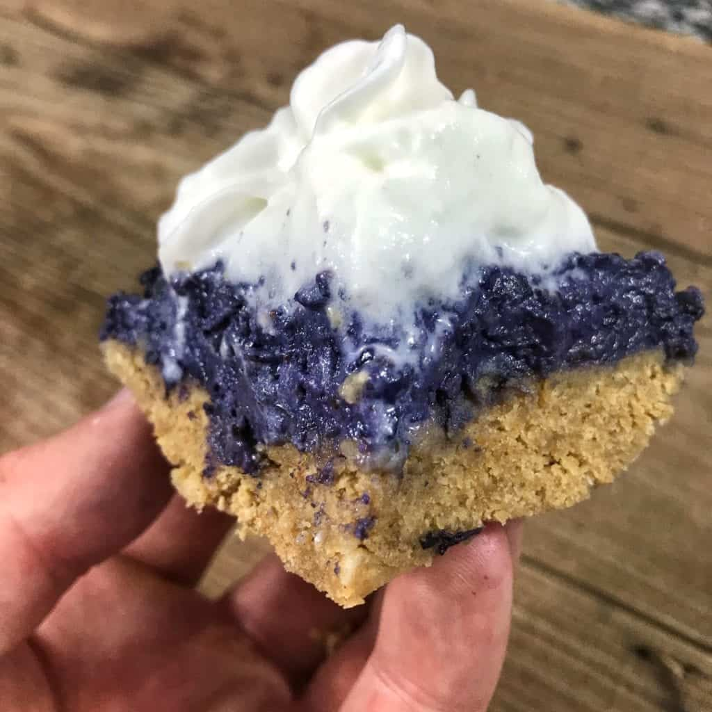 Take homemade blueberry pie filling to the next level with this high protein, microwaveable blueberry pie recipe. Only 220 calories and 25 grams of protein for the entire pie.