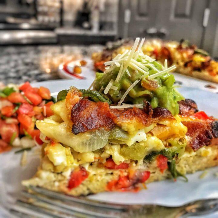 low carb breakfast pizza recipe