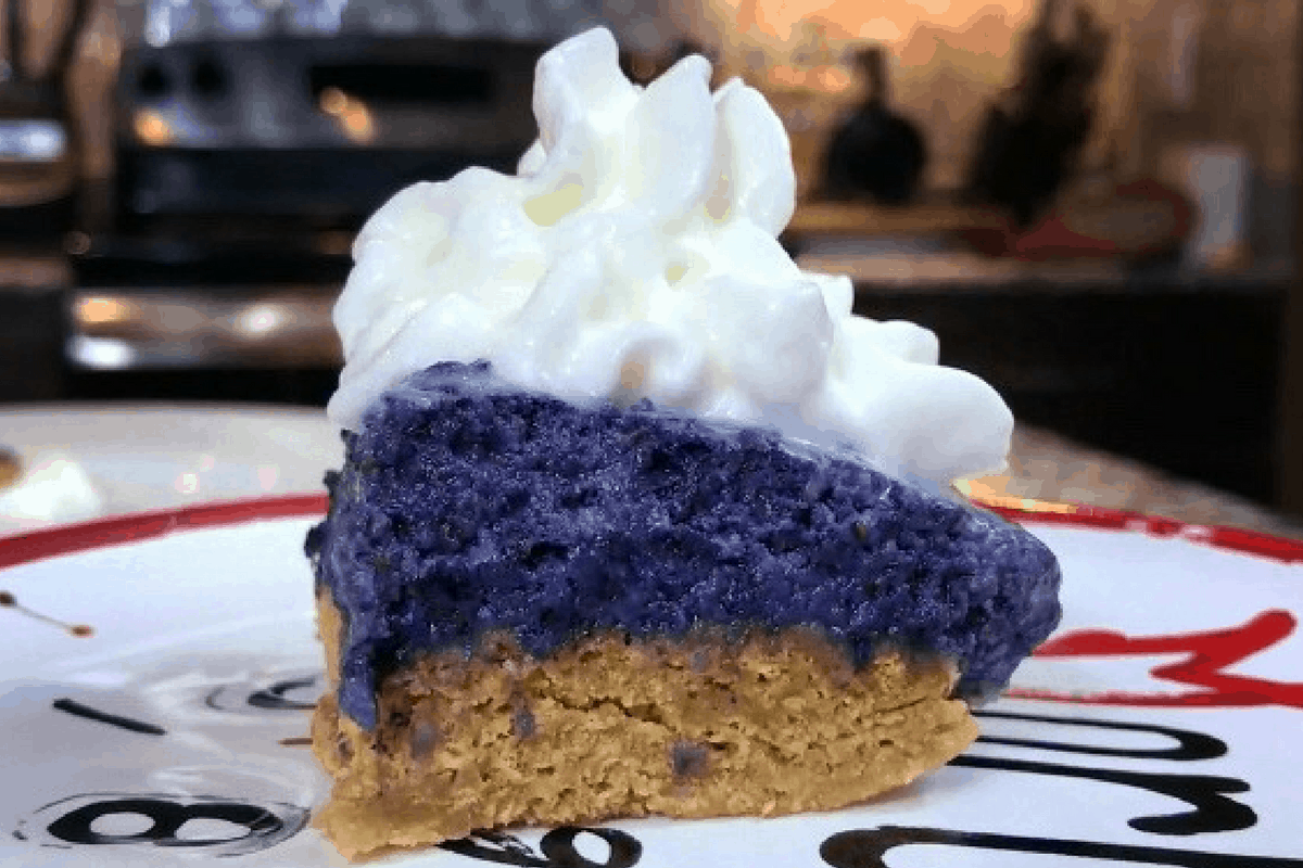 Low Calorie, High Protein Microwaveable Blueberry Pie Recipe