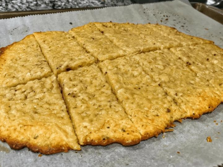 healthy cheesy garlic bread recipe