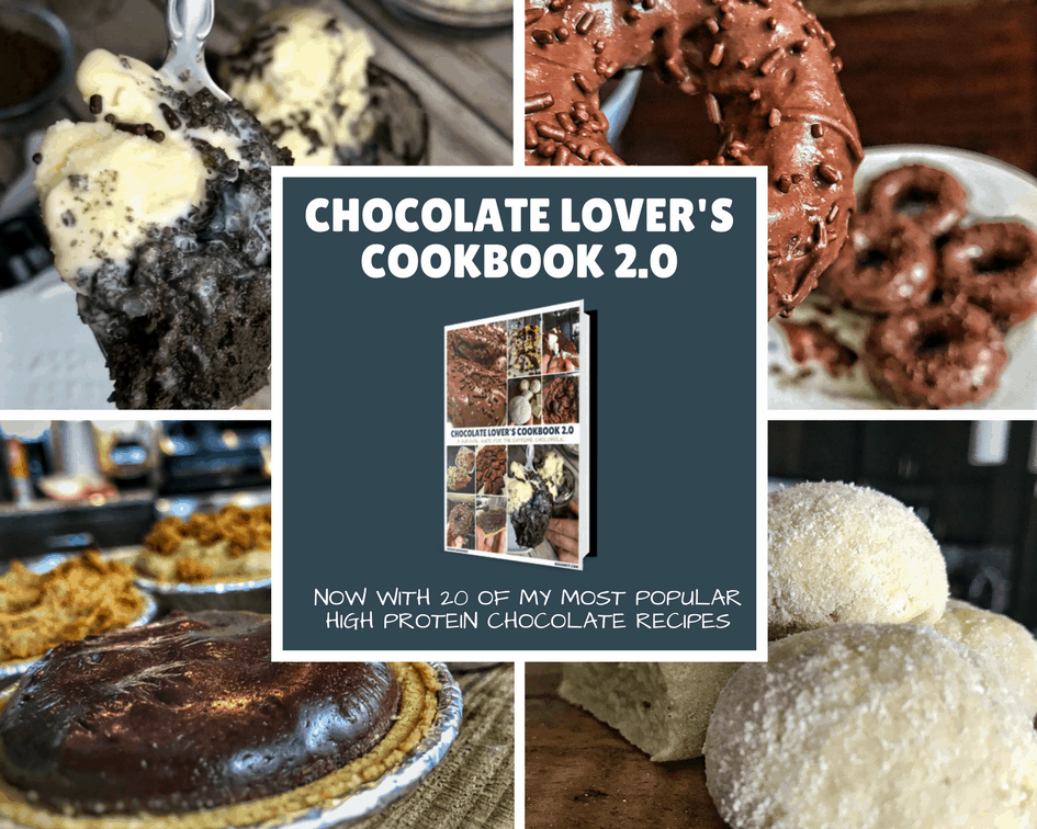 high protein cookbook for chocolate lovers
