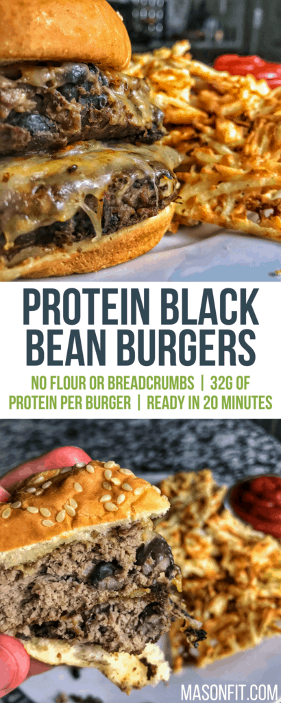 These high protein black bean burgers will be a new favorite. Picky eater approved!