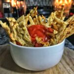 high protein waffle fries