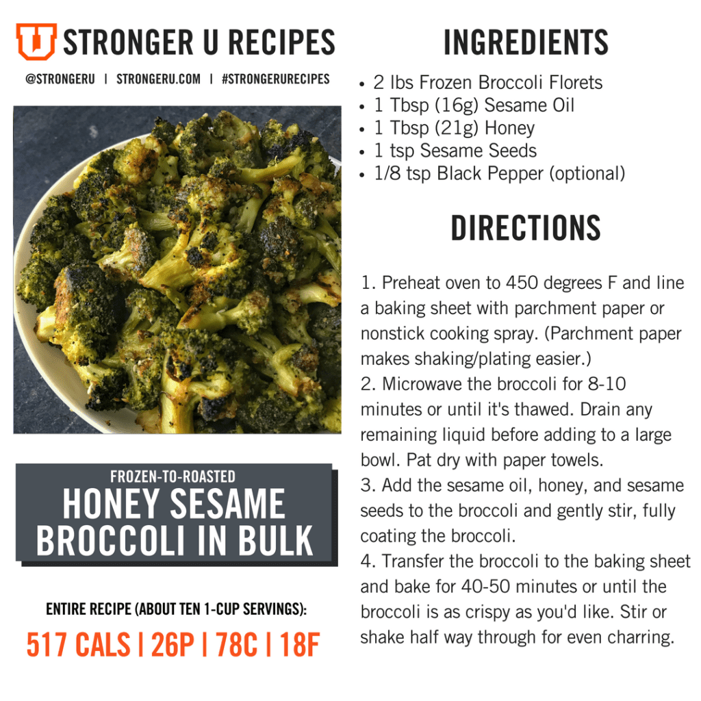 how to prepare broccoli in bulk