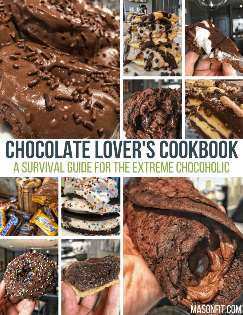high protein chocolate recipes cookbook for fitness