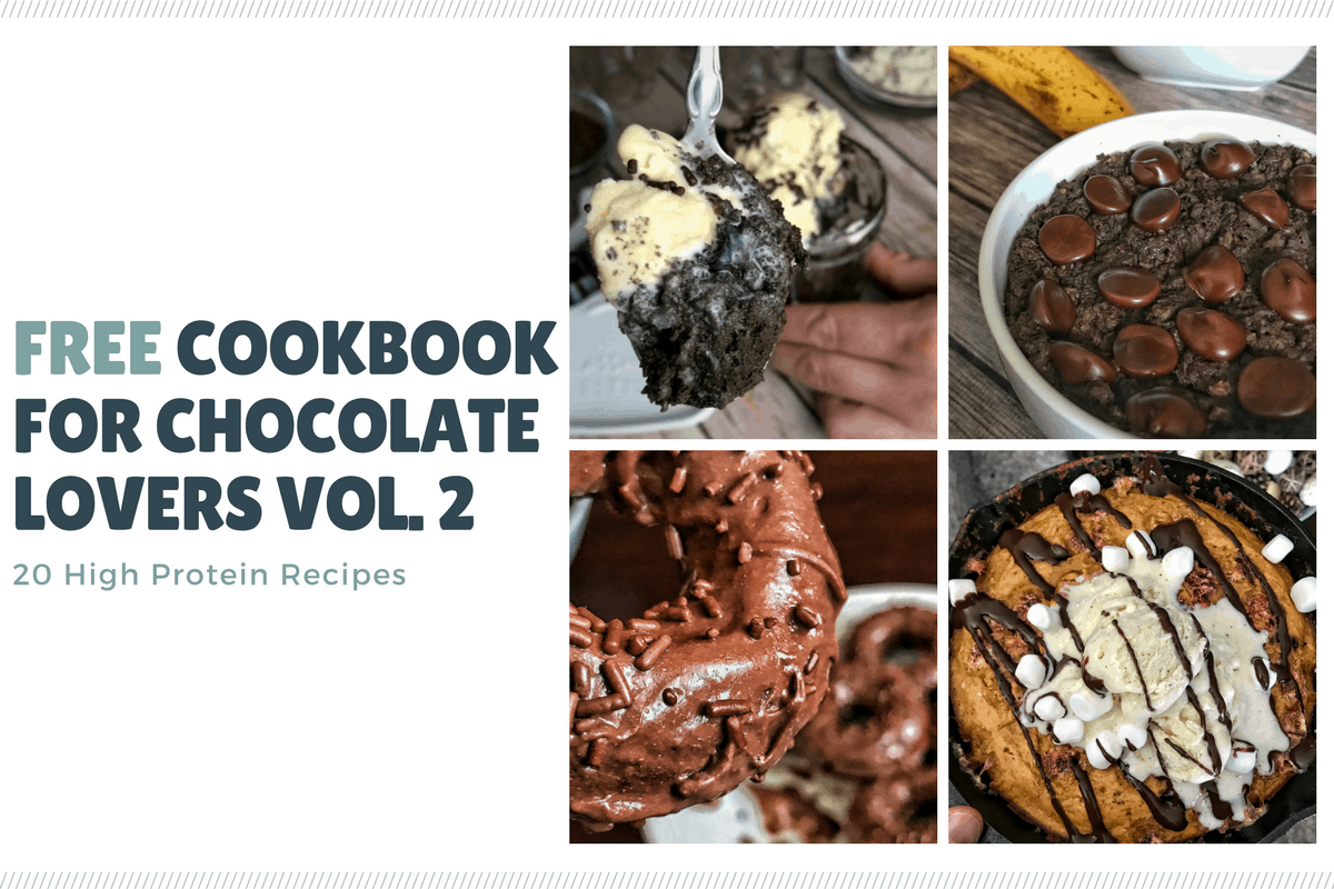 Free High Protein Cookbook: 20+ High Protein Chocolate Recipes