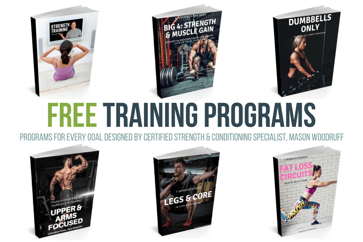 Free Training Programs by Mason Woodruff
