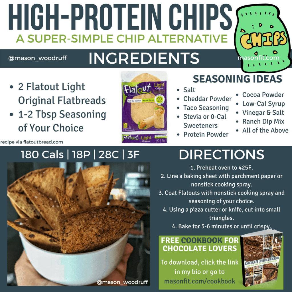 high protein chips recipe