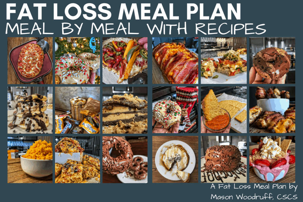 meal plan for fat loss