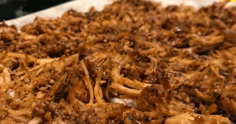 5-Ingredient Crispy Carnitas: Instant Pot and Crock Pot Friendly