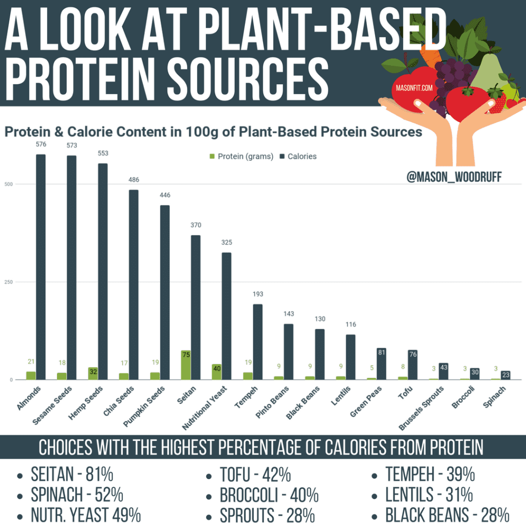 Eating Enough Protein without animal products