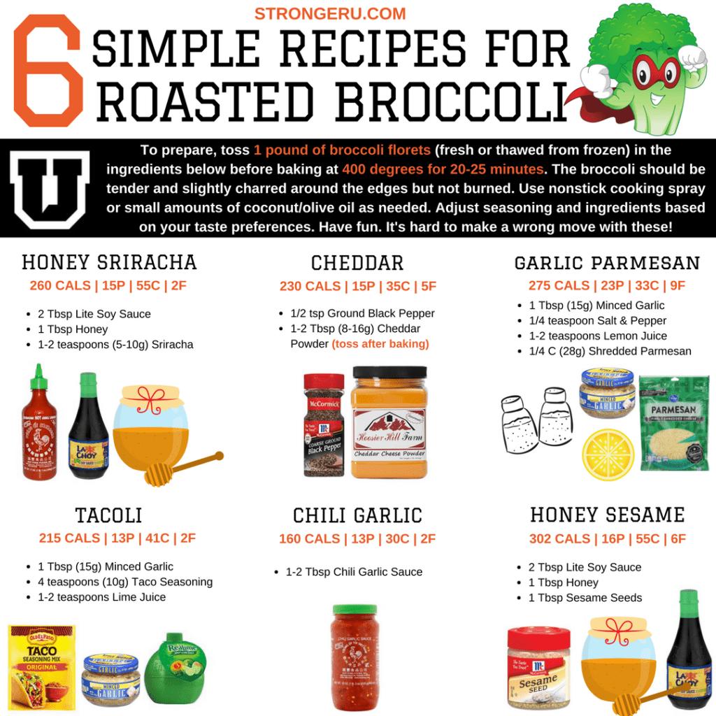 roasted broccoli recipes