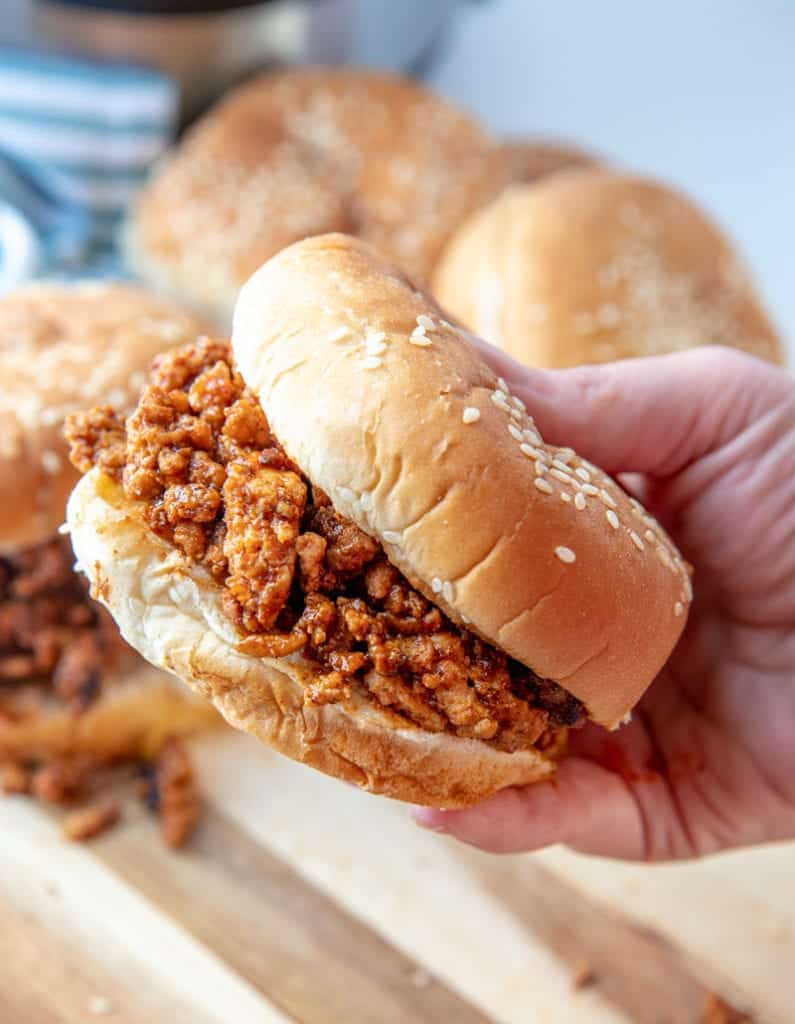 healthy instant pot sloppy joes recipe 4