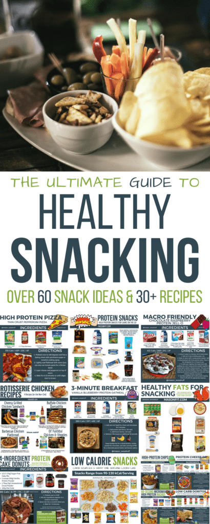 A healthy snacks guide with more than 60 snack ideas and over 30 low calorie snack recipes to make any diet more enjoyable.