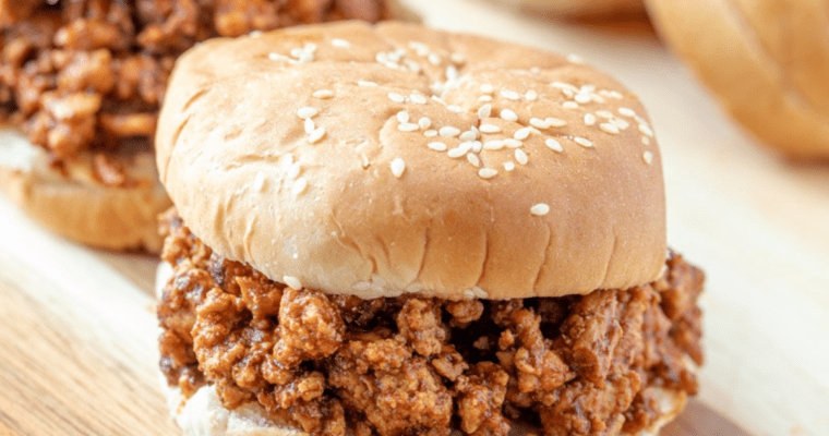 Healthy Instant Pot Sloppy Joes
