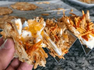 Hash Brown Breakfast Taco Shells