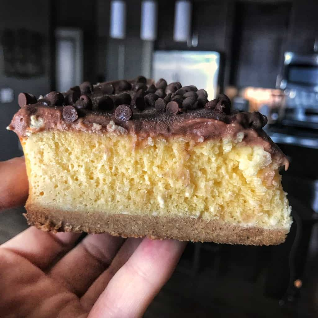 Instant Pot Cheesecake Recipe: Low Calorie, High Protein ...