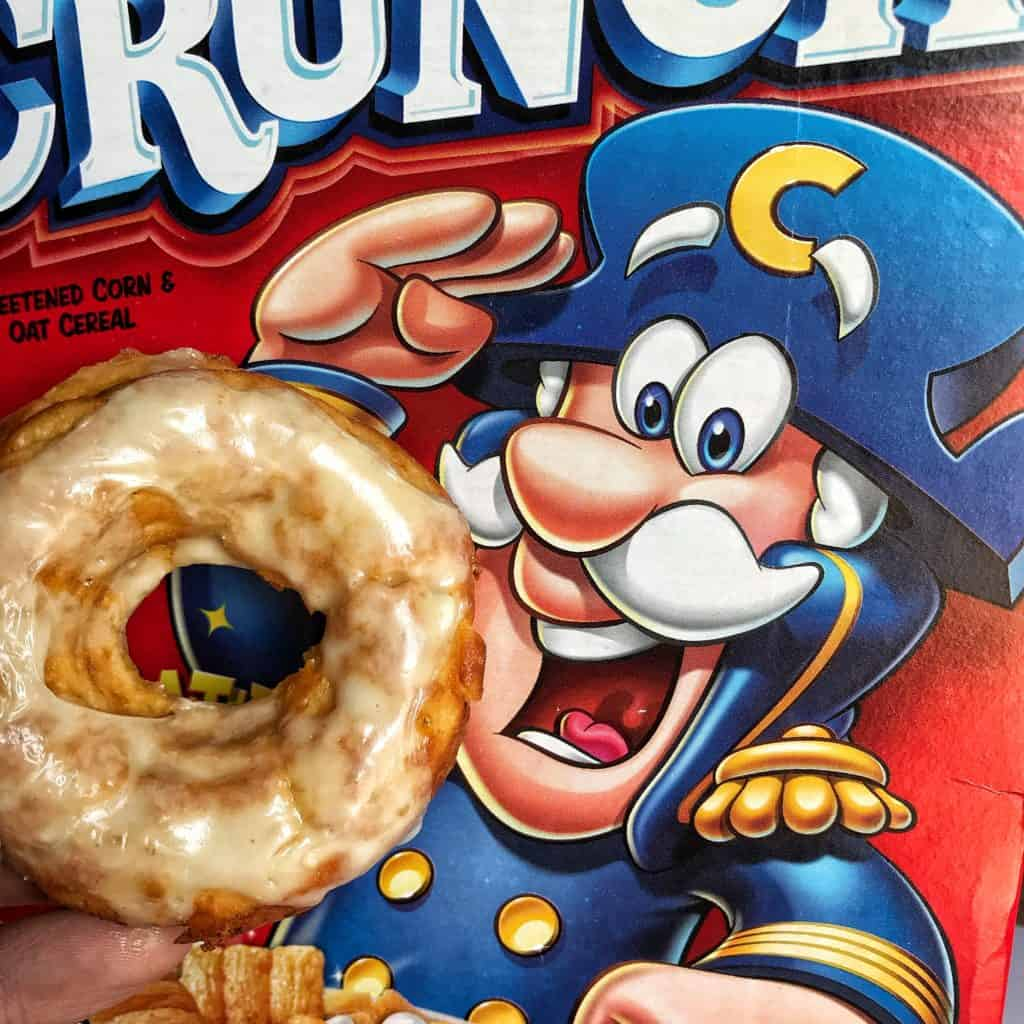 Modifying This Recipe for Plain Cap'n Crunch Protein Donuts