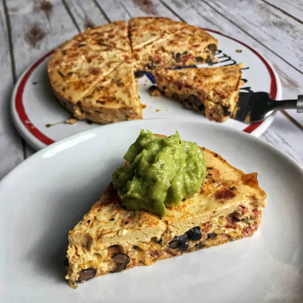huevos rancheros crustless quiche
