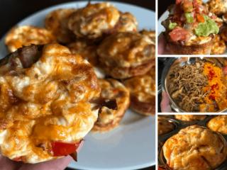 Crispy Carnitas Breakfast Muffins
