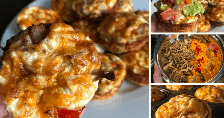 Crispy Carnitas Breakfast Muffins