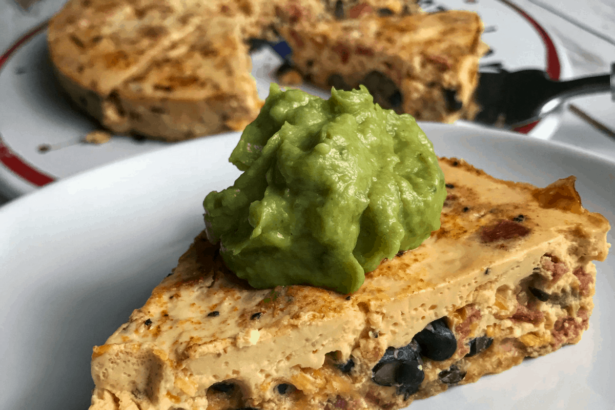 Healthy Huevos Rancheros Crustless Quiche: Instant Pot or Oven