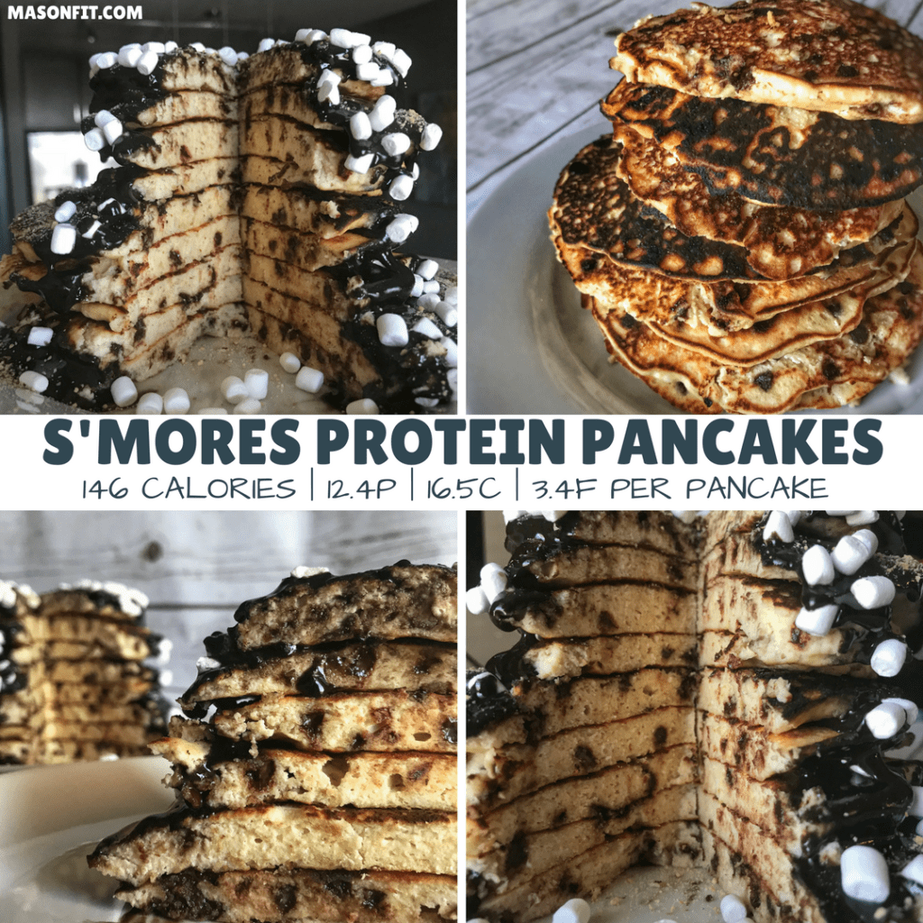 Birthday Cake Protein Pancake Recipe