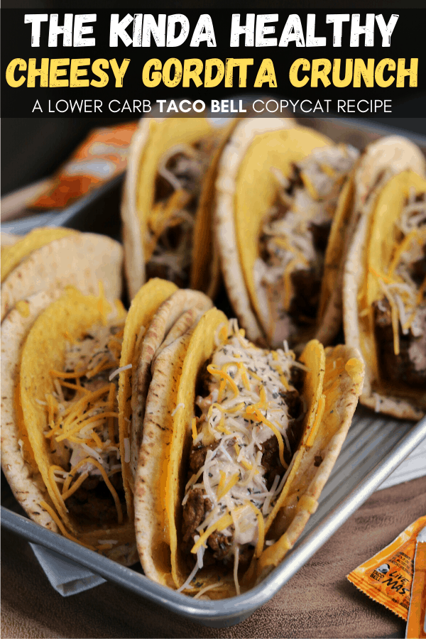 Taco Bell S Cheesy Gordita Crunch Made Kinda Healthy