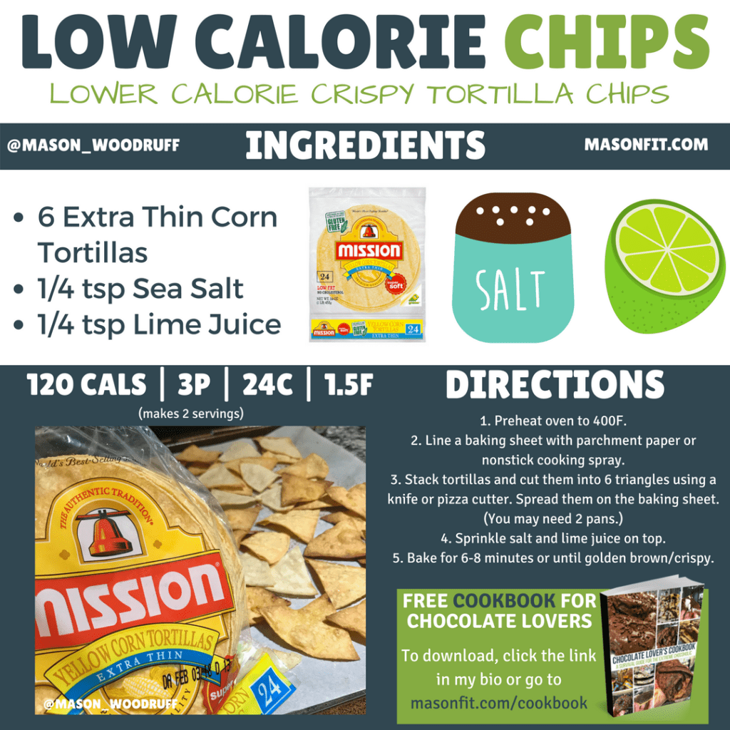 high volume snacks how to make healthy chips