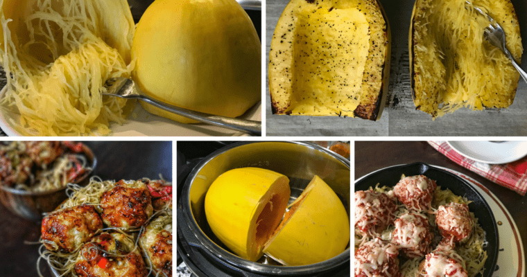 3 Ways to Cook Spaghetti Squash with Recipe Ideas
