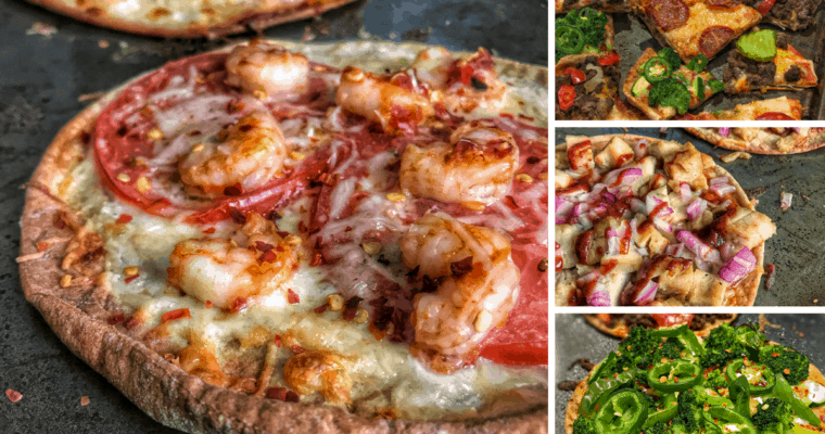 6 Low Calorie Pita Pizza Recipes