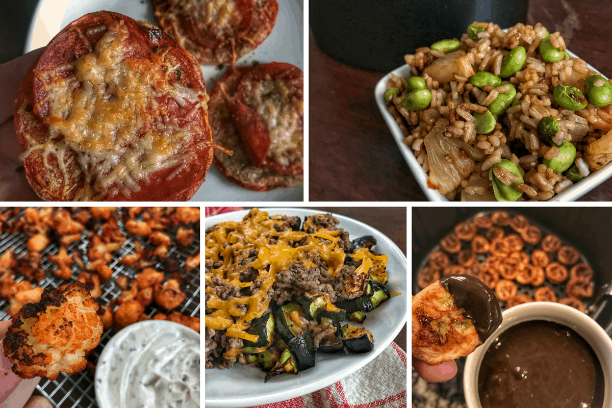 7 Air Fryer Recipes: Simple and Healthy Entrees, Snacks, and Treats