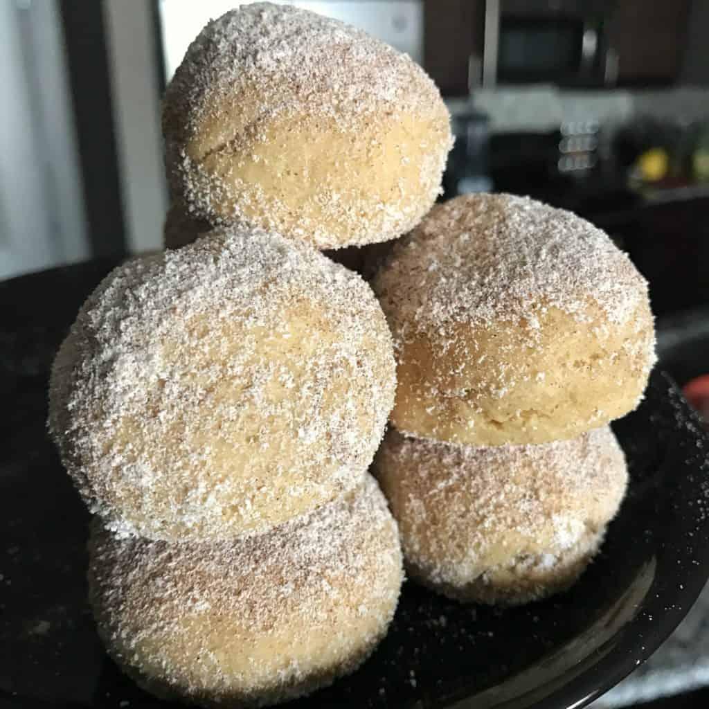 cinnamon churro protein balls