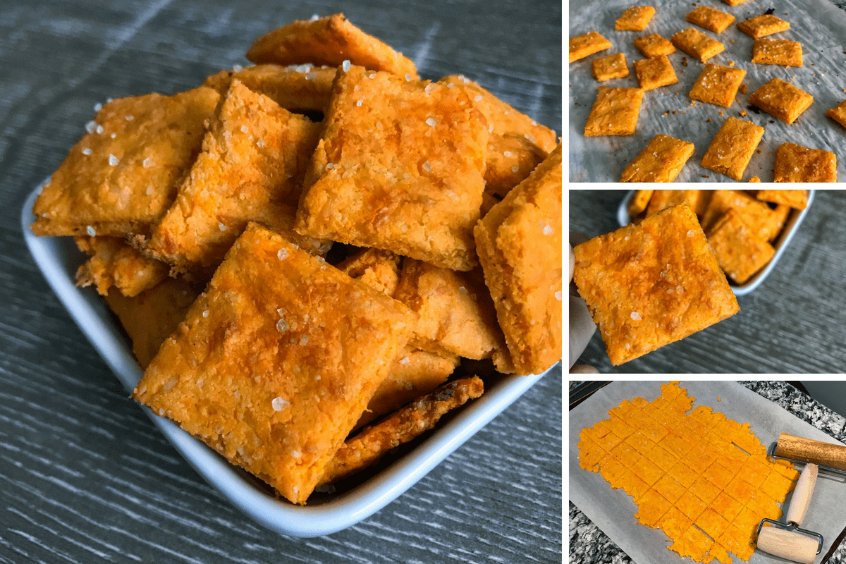 Low Carb Cheez-It Cheese Crackers: A 5-Ingredient Low Carb Snack