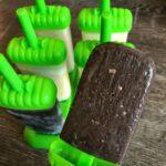 almond joy protein popsicles