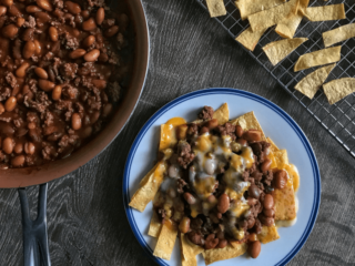 healthy frito pie featured image