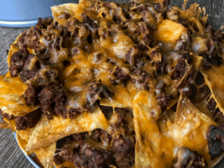 A lower fat chorizo with pork and beef recipe for some of the best healthy nachos you'll find on the internet. 23g protein & only 10g carbs per serving!
