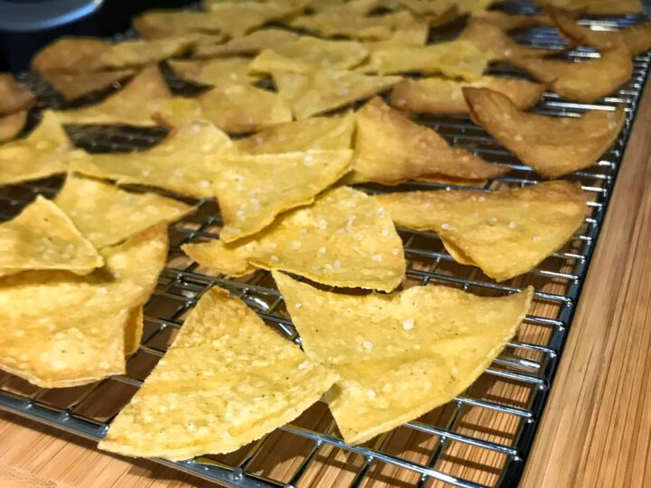 Low Calorie Tortilla Chips Perfect For High Protein Cheese Dip Nachos And More