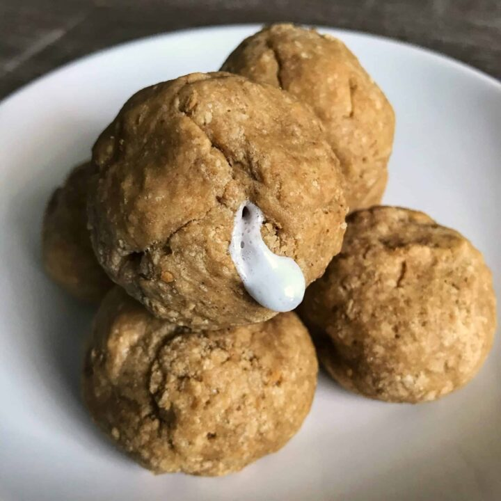 s'mores protein cookie balls